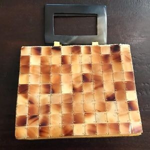 NWOT Mad Bags Tortoise Shell Purse